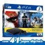 PLAYSTATION 4 SLIM – 500GB BUNDLE + 3 JOGOS: Uncharted 4: A Thief