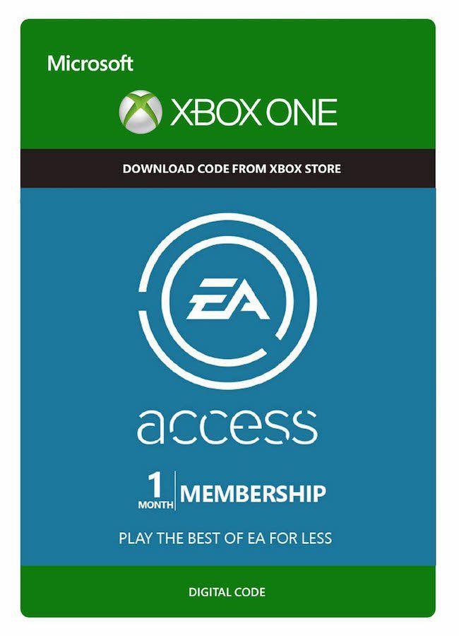 Cartão Assinatura EA Access (1 Mês) - XBOX One