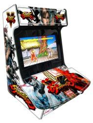 BARTOP ESTAMPA STREET FIGHTER  com 10 mil jogos