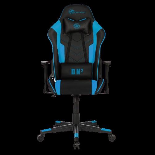 Cadeira Gamer DN2 Preto e Azul - DRAXEN