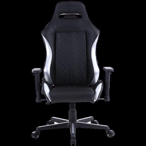 Cadeira Gamer MX16 Giratoria Preto/Prata MyMax