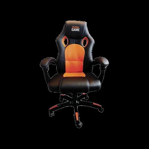 Cadeira Gamer OEX GC200 - Preto/Laranja