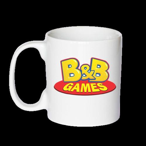 Caneca B&B Games cerâmica