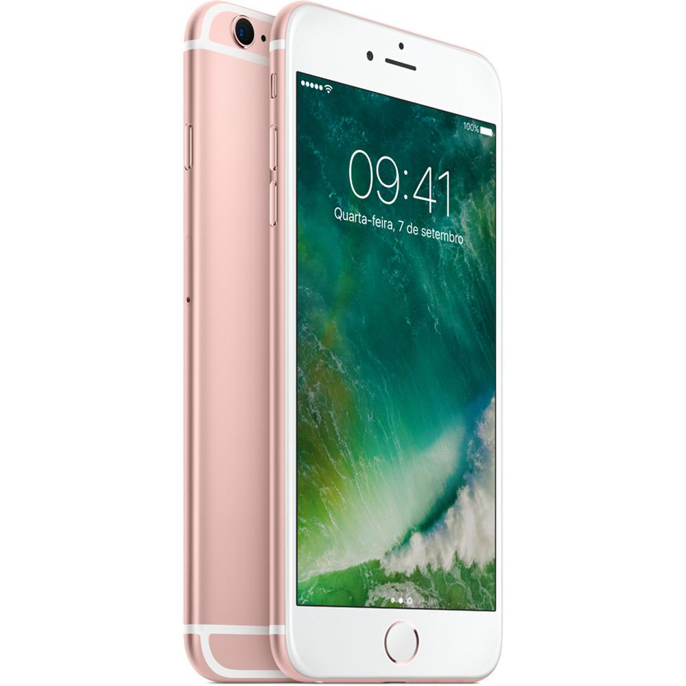 "CELULAR APPLE IPHONE 6S PLUS 1687 BZ 32GB / 4G / TELA 5.5"" / CÂMERAS 12MP E 5MP - ROSA PINK"