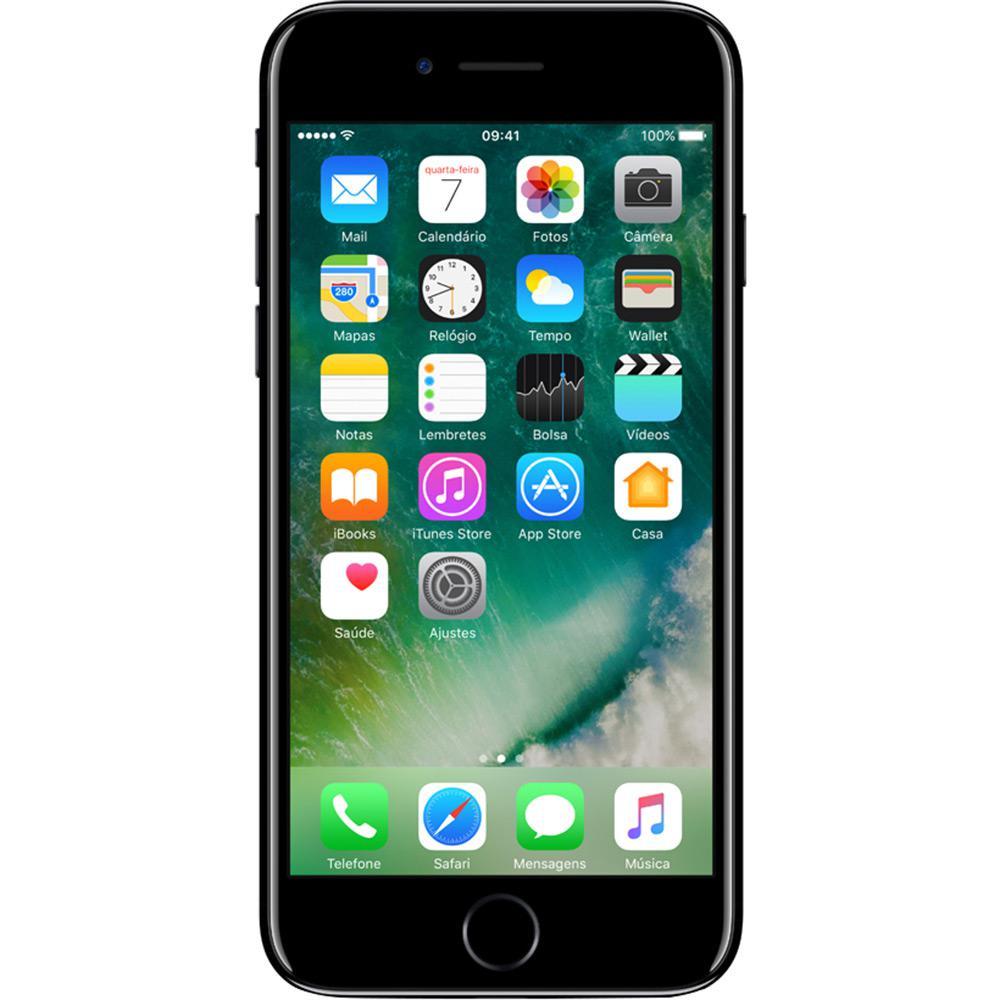 CELULAR APPLE IPHONE 7 PLUS 128GB 1784 JET BLACK 3 PINOS EUROPEU