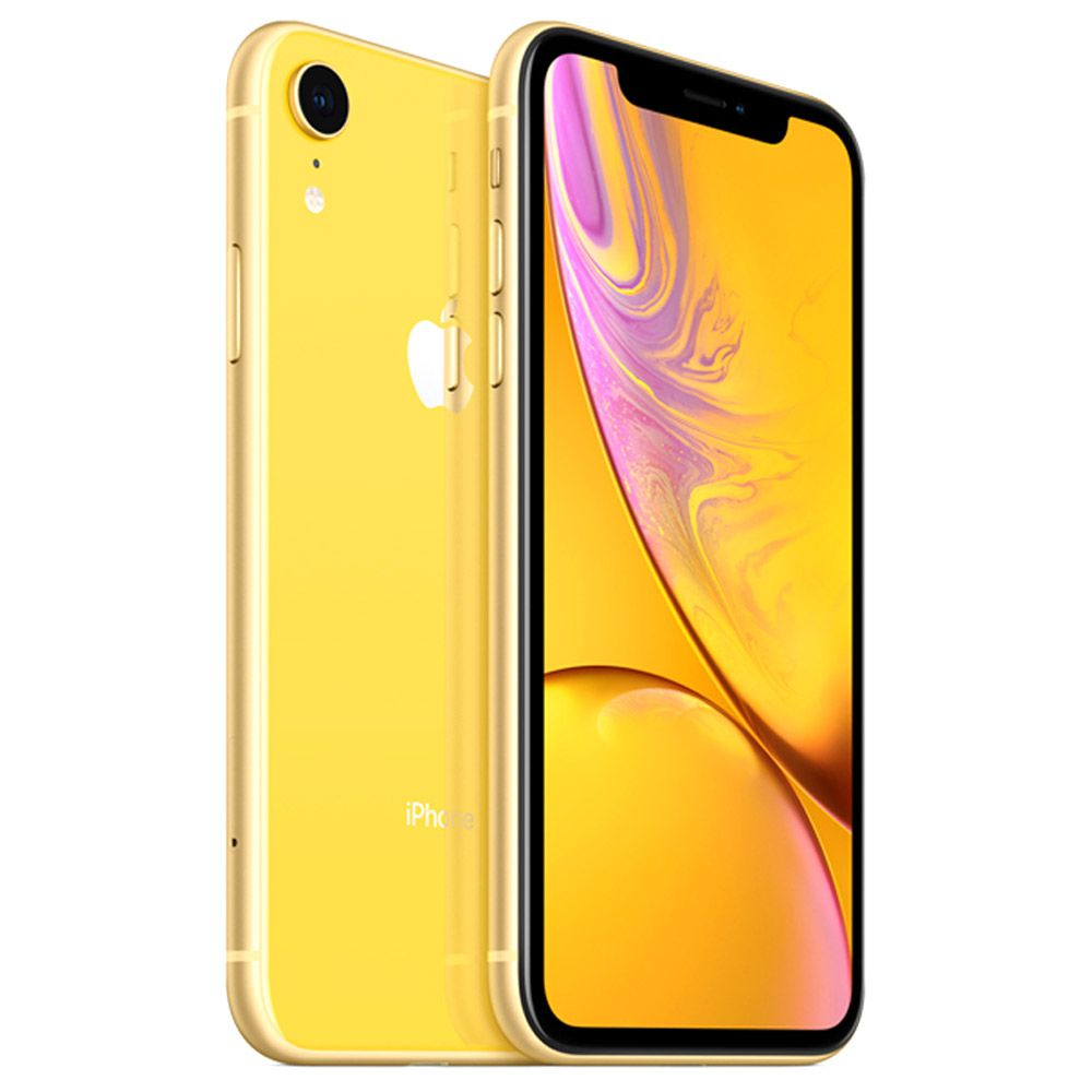 "CELULAR APPLE IPHONE XR 64GB 2105LL / 4G / TELA DE 6.1"" / CÂMERAS 12MP E 7MP / 3GB RAM - AMARELO"
