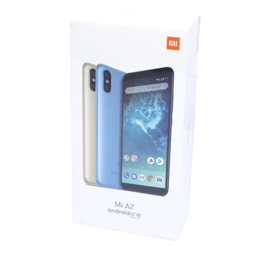 "CELULAR XIAOMI A2 64GB / 4G / DUAL SIM / TELA 5.8"" / CAMERAS 12MP+20MP E 20MP - PRETO VERSION (VERSÃO GLOBAL)"