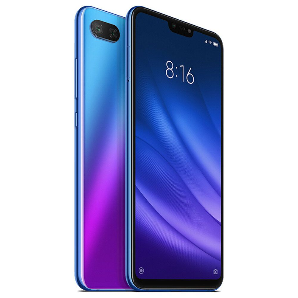 "CELULAR XIAOMI MI 8 LITE 64GB / 4G / DUAL SIM / TELA 6.26"" / CÂMERAS 12MP+5MP E 24MP - AZUL GLOBAL VERSION (VERSÃO GLOBAL)"