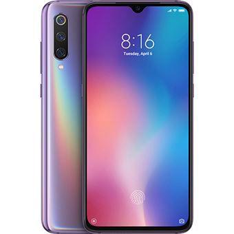 """Celular xiaomi mi 9 64gb / 4g / dual sim / tela 6.39"""" / câmeras 48mp + 16mp + 12mp e 20mp - lavender violet"""