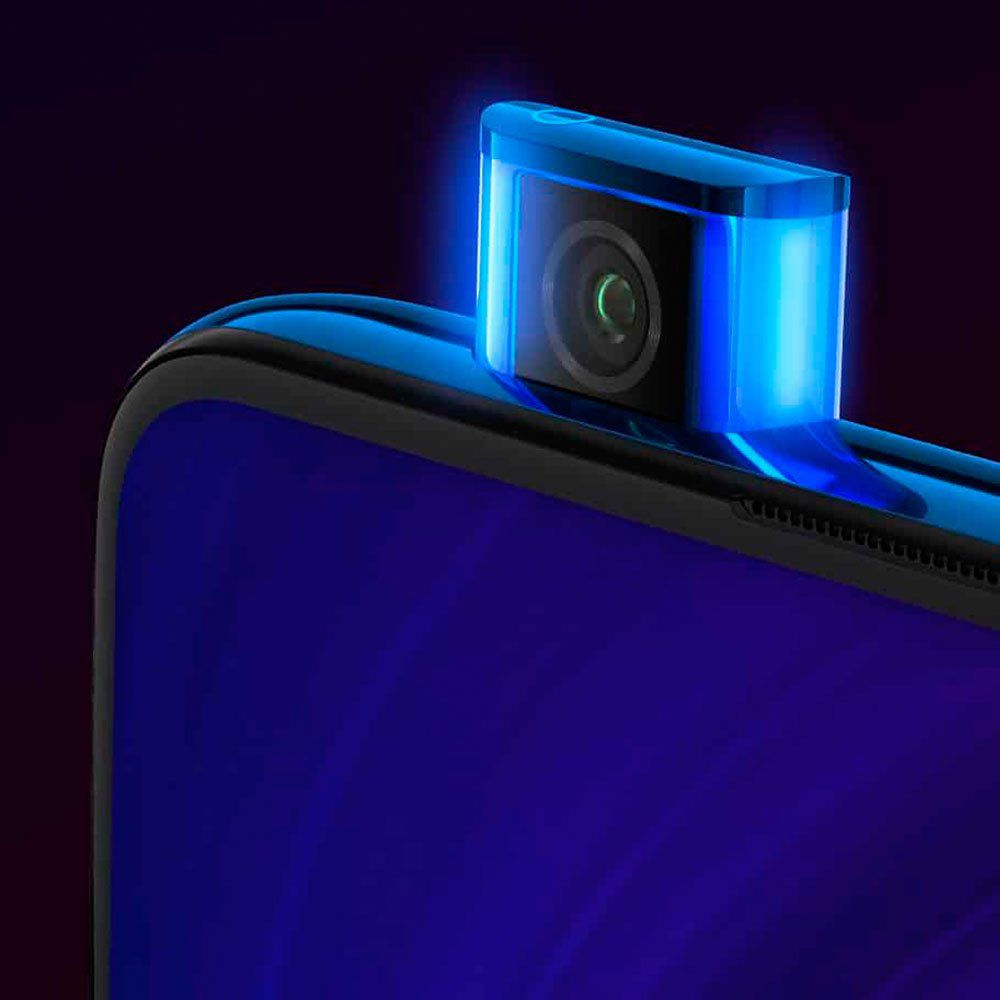 """Celular xiaomi mi 9t 64gb / 4g / dual sim / tela 6.39"""" / câmeras 48mp + 13mp + 8mp e 20mp - azul"""