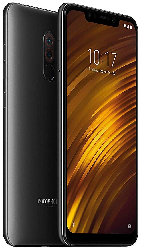 "CELULAR XIAOMI POCOPHONE F1 128GB / 4G LTE / DUAL SIM / TELA 6.18"" / CÂMERAS 12MP + 5MP E 20MP - PRETO GLOBAL VERSION (VERSÃO GLOBAL)"