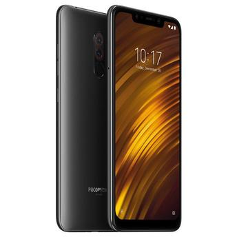 "CELULAR XIAOMI POCOPHONE F1 64GB / 4G LTE / DUAL SIM / TELA 6.18"" / CÂMERAS 12MP + 5MP E 20MP - PRETO GLOBAL VERSION (VERSÃO GLOBAL)"