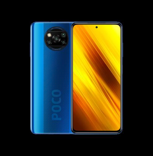 Celular Xiaomi Pocophone X3 128GB / 6GB RAM / 4G / Dual Sim / Tela 6.67