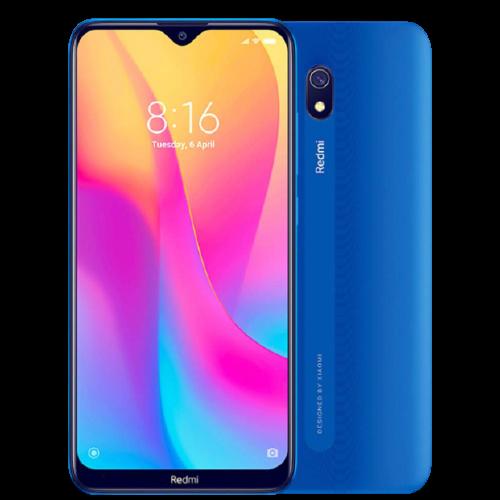 Celular Xiaomi Redmi 8A 32GB / 2GB RAM / 4G / Dual Sim / Tela 6.2'' / Câmeras 12MP e 8MP - Ocean Blue Azul