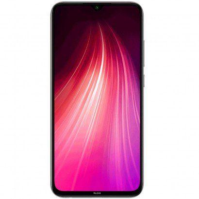 """Celular Xiaomi Redmi Note 8 64gb / 4g / Dual Sim / Tela 6.3"""" / Câmeras 48mp + 8mp + 2mp + 2mp E 13mp - Branco (Br)(Global) BF"""
