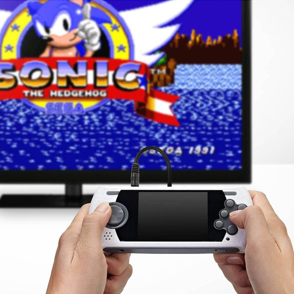 Console Genesis Classic Game com 80 Jogos Portatil Sega