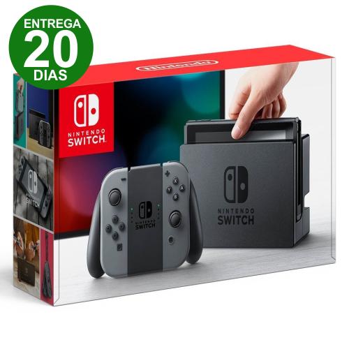 Console Nintendo Switch 32gb - Gray (Cinza) (Entrega 20 Dias)