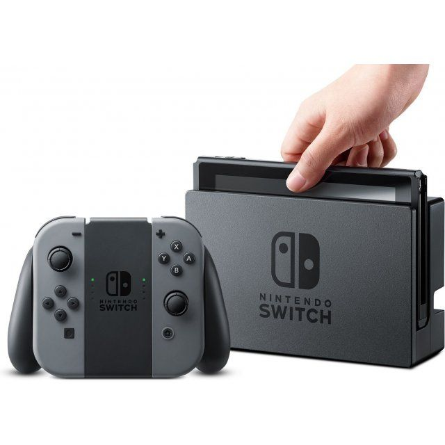 Console Nintendo Switch 32gb - Gray (Cinza) + Jogo Super Mario Odyssey