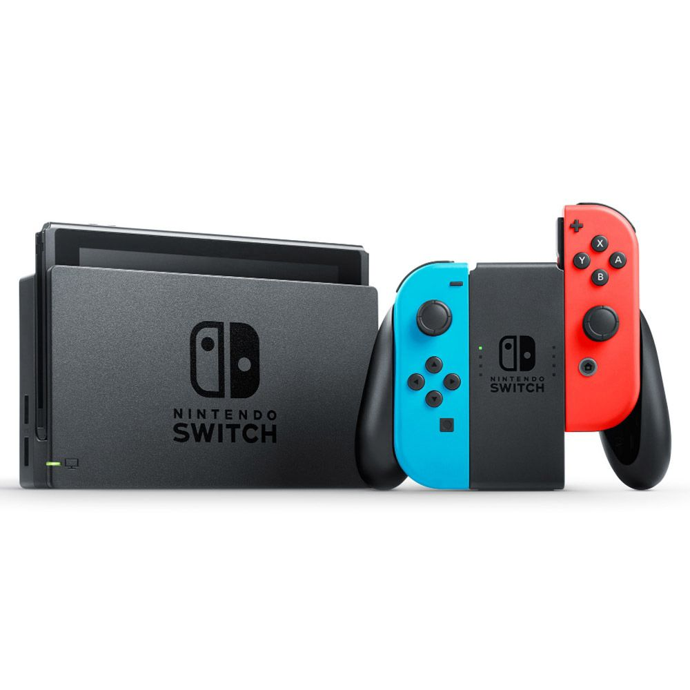 CONSOLE NINTENDO SWITCH 32GB NEON BUNDLE FORTNITE