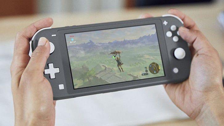 Console Nintendo Switch Lite cinza (HDH-S-GAZAA) bf