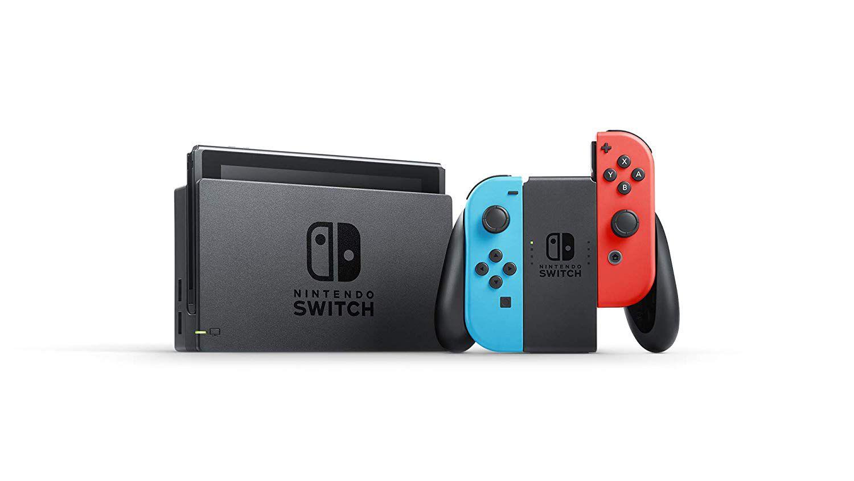 Console Nintendo Switch With Neon 32GB Azul com Vermelho bf