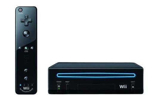 Console Nintendo Wii preto - Seminovo