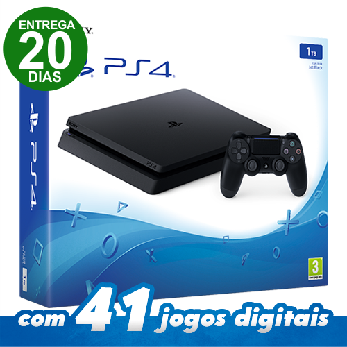 Console Playstation 4 - 1TB ps4 video game (ENTREGA 20 DIAS)