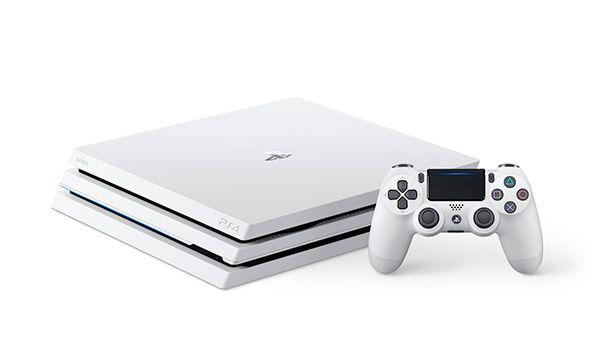 Console Playstation 4 PRO 1TB Glacier White - Branco