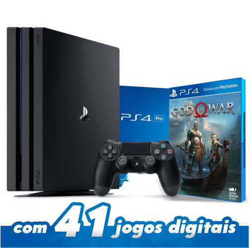 Console Playstation 4 Pro 1TB + Jogo God of War