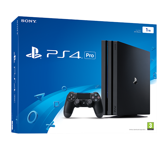 Console Playstation 4 Pro 1TB - Preto Ps 4 - PLAY 4 Video Game