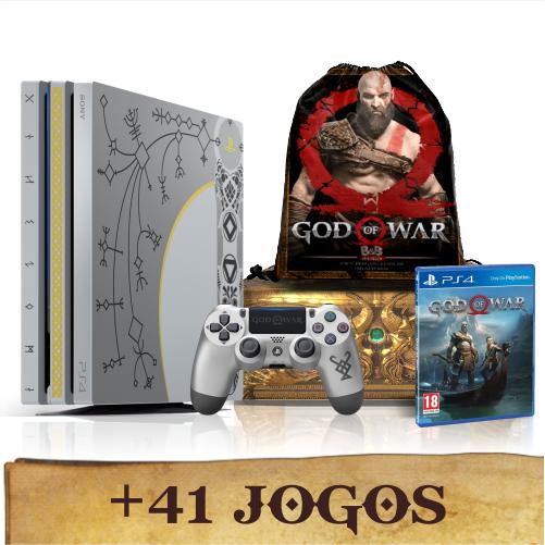 Console Playstation 4 Pro God Of War Ps4 Bundle Edicao
