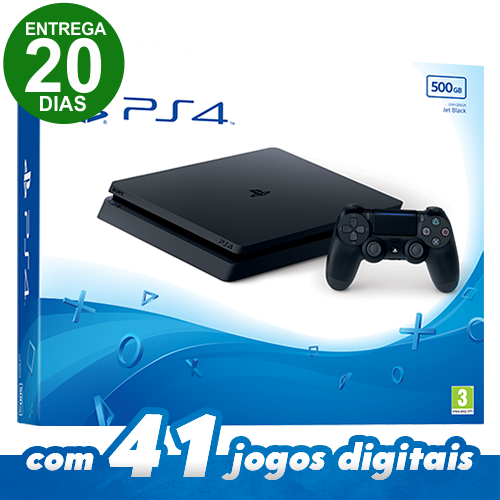 Console Playstation 4 Slim 500GB (Entrega 20 Dias)