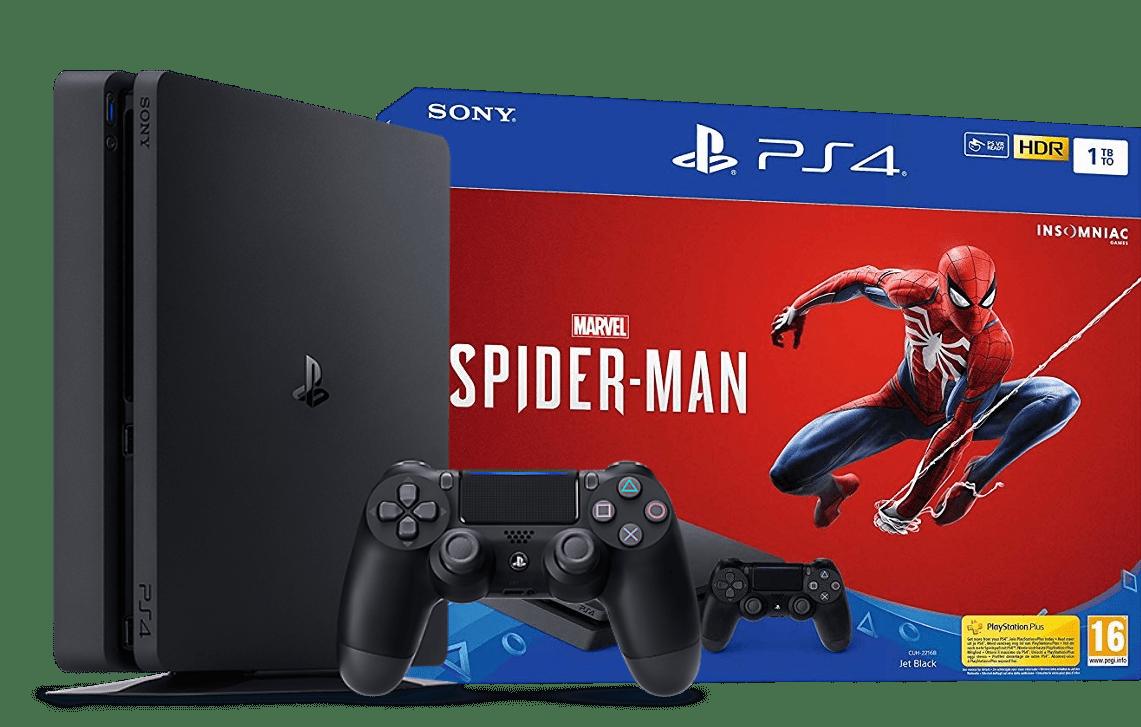 Console Playstation 4 Slim 1TB Spiderman + 41 JOGOS DIGITAIS