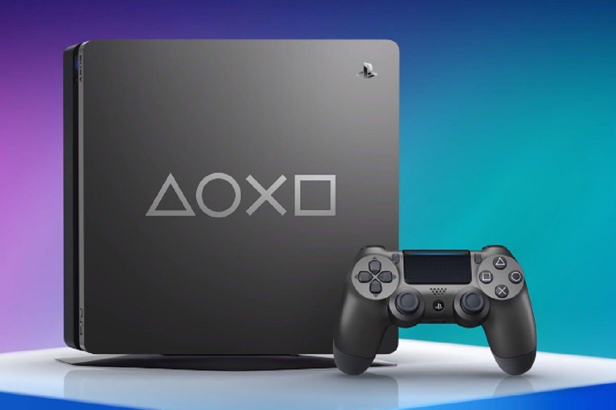 Console sony playstation 4 1tb modelo 2215b days of play edition