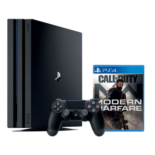 Console Sony Playstation 4 Pro 1TB modelo 7215 bundle Call of Duty Modern Warfare