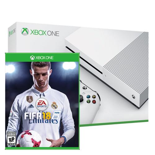 Console Xbox One S – 500GB com Fifa 18