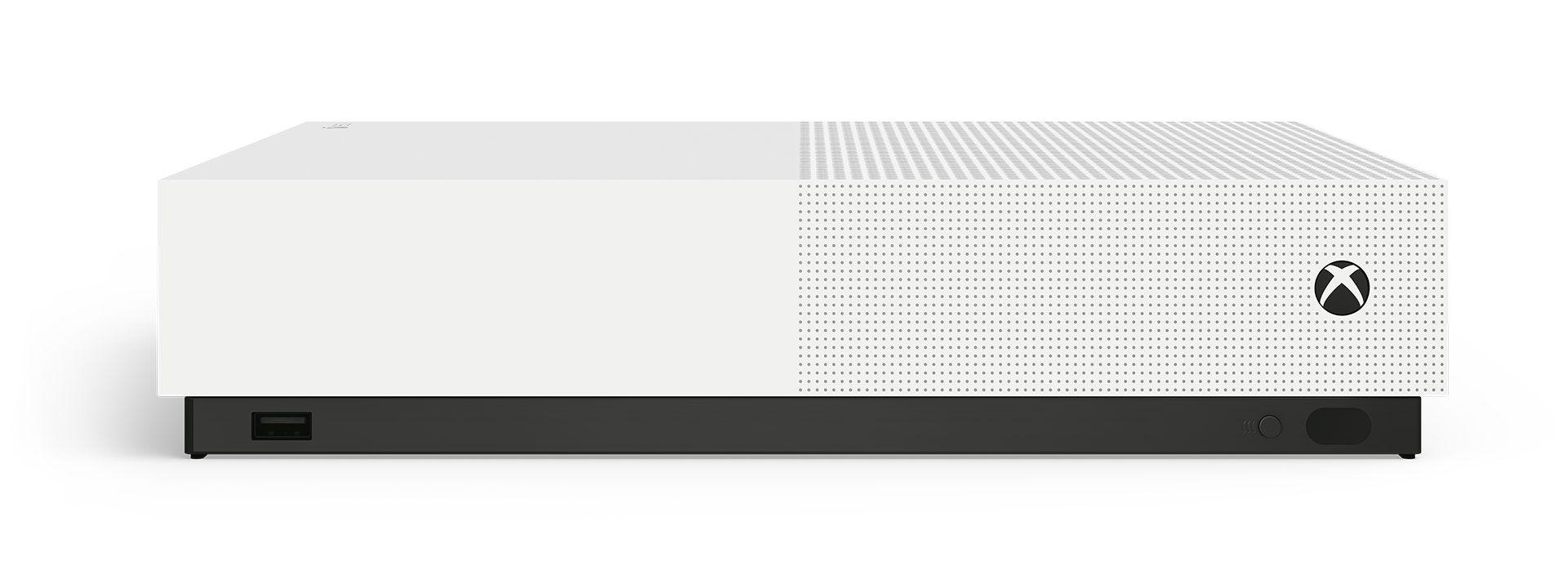 Console xbox one s all digital 1tb - branco