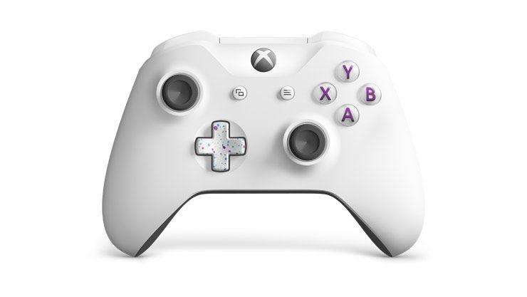 Console Xbox One X de 1TB Microsoft 1787 Special Edition EU Bivolt - Branco/Colorido