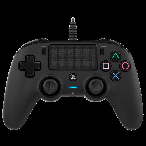 Controle Compacto Nacon Com Fio Para PS4 - Preto
