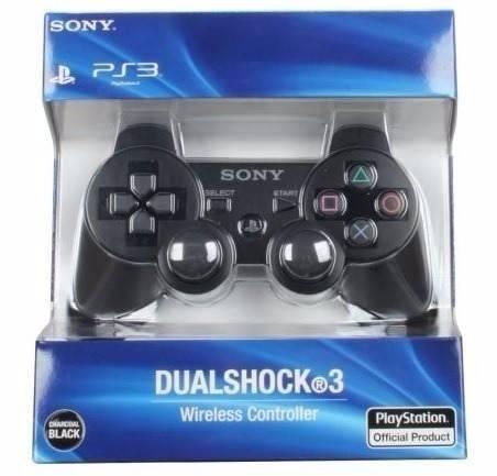 Controle Dual Shock 3 Preto PS3 - Playstation 3 Wirelless sem fio