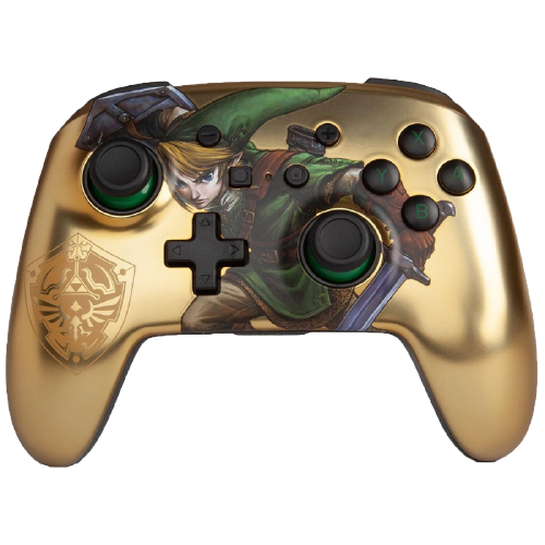 Controle Nintendo Switch Link Gold