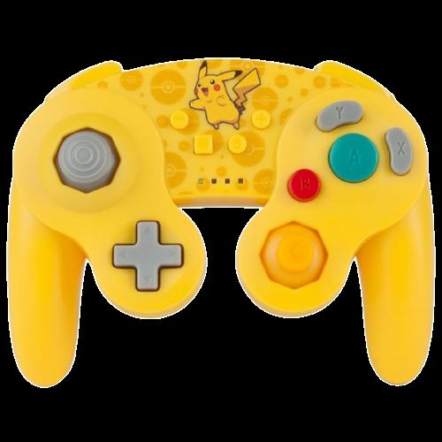 Controle Nintendo Switch PowerA Pokémon  - Amarelo (Sem fio)