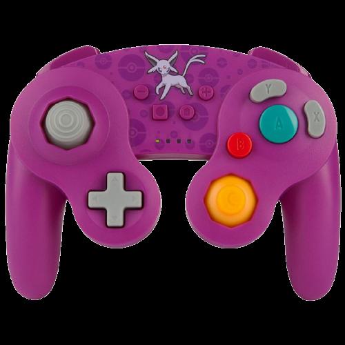 Controle Nintendo Switch PowerA Wireless Pokémon 1 - Roxo (Sem fio)