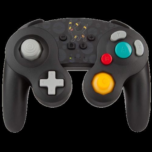 Controle Nintendo Switch PowerA Wireless Pokémon  - Preto (Sem fio)