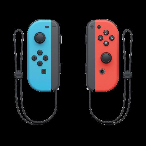 Controle Para Nintendo Switch Joy-Con - Vermelho/Azul