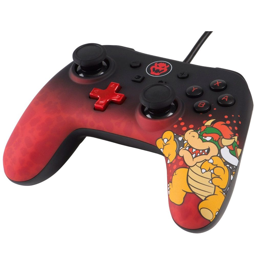 CONTROLE POWERA WIRED BOWSER - NINTENDO SWITCH