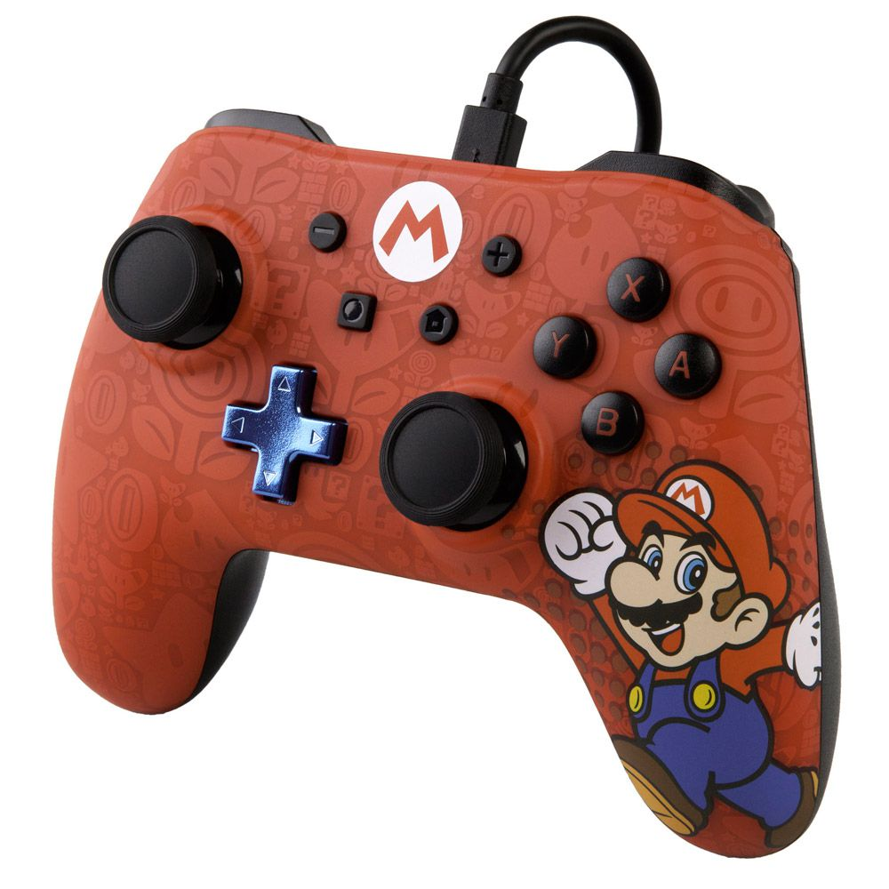 CONTROLE POWERA WIRED MARIO - NINTENDO SWITCH