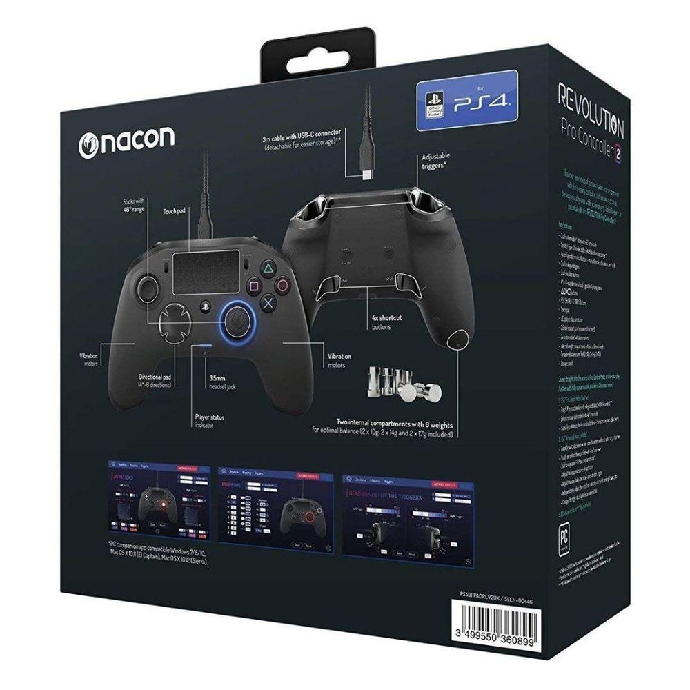 Controle Pro 2 Revolution Nacon V2 Ps4