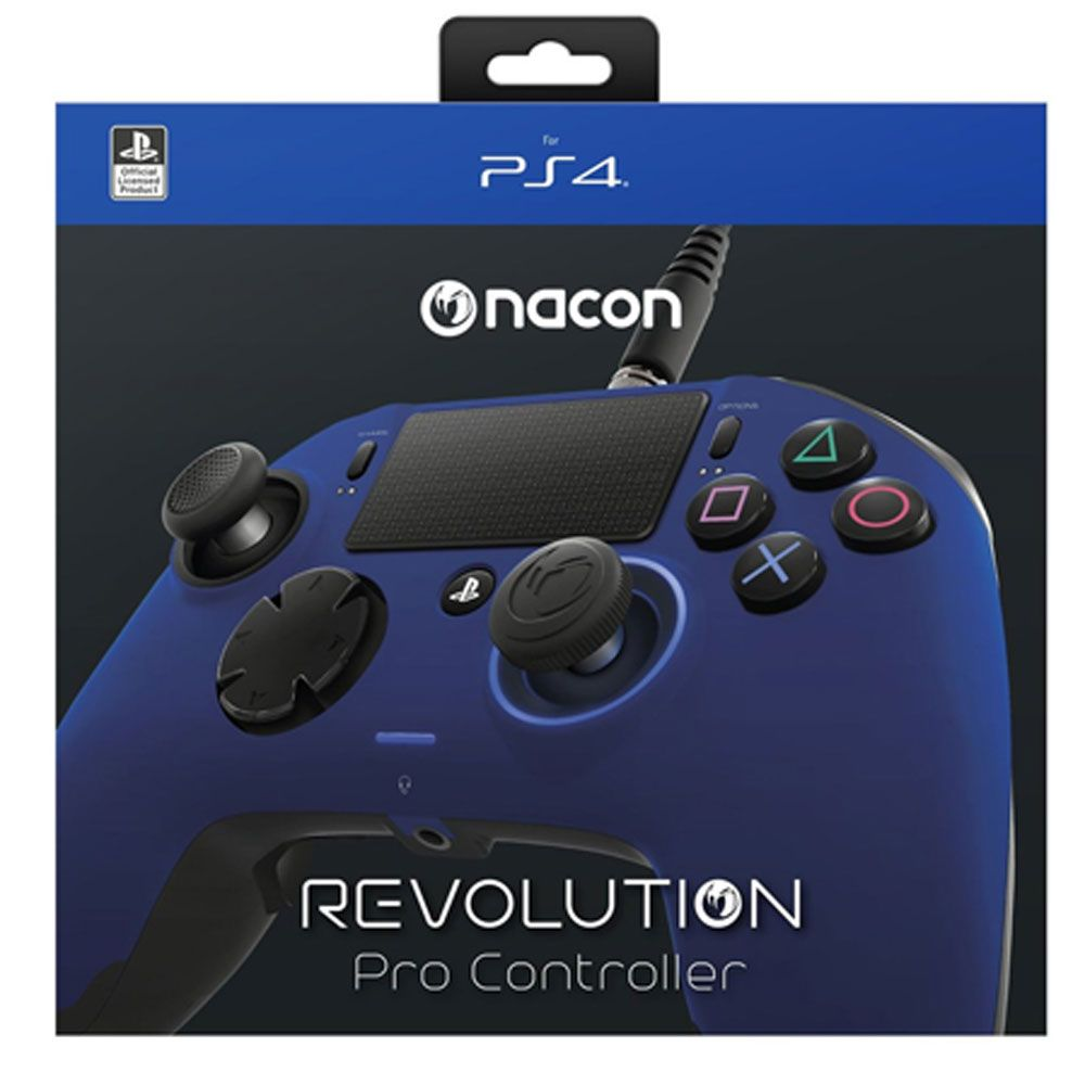 CONTROLE PRO NACON AZUL PARA PLAYSTATION 4