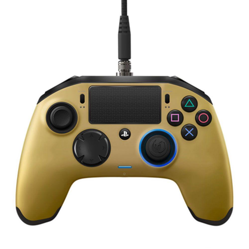 CONTROLE PRO NACON DOURADO GOLD PARA PLAYSTATION 4
